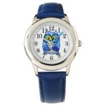 Little owl blue watch