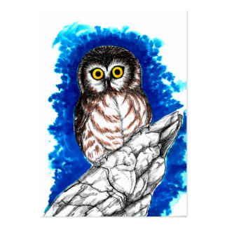 Little Owl Large Business Cards (Pack Of 100)