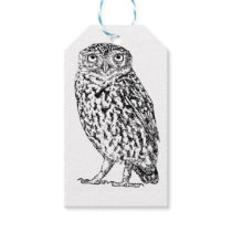 Little owl gift tags