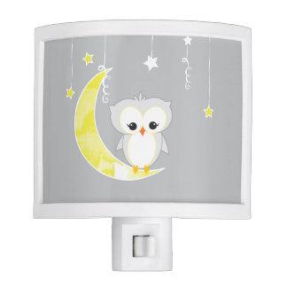 Little Owl | Gray Night Light