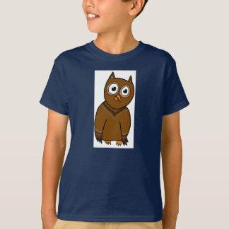 Little Owl- Kid's Medium Shirt