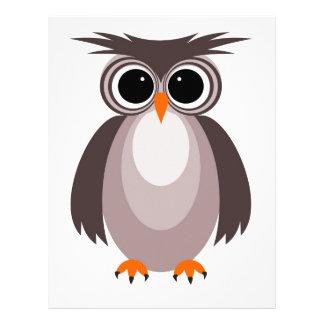 Little owl letterhead