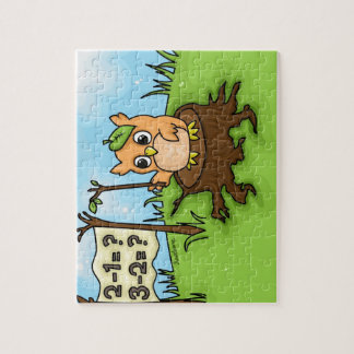 Little Owl s Math Lesson Jigsaw Puzzle