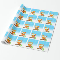 Little Owl Wrapping Paper