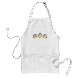 Little Owls Adult Apron