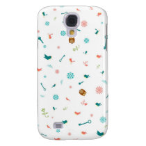Little Owls and Birds Galaxy S4 Cover