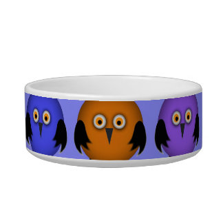 Little Owls Bowl For Cats