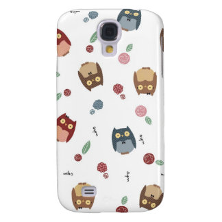 Little Owls Galaxy S4 Cases