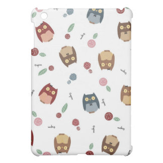 Little Owls iPad Mini Cover