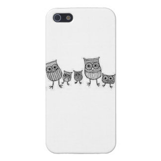 Little Owls iPhone SE/5/5s Cover