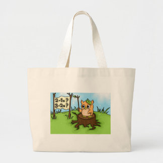 Little Owl's Math Lesson Tote Bags