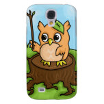 Little Owl's Math Lesson Galaxy S4 Cover