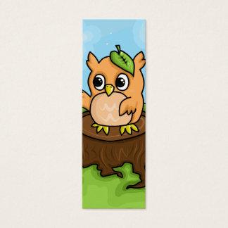 Little Owl's Math Lesson Mini Business Card