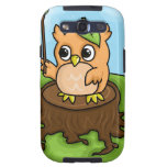 Little Owl's Math Lesson Samsung Galaxy SIII Cover