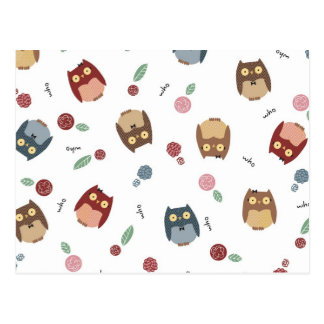 Little Owls Postcards