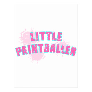 Little Paintballer Postcard