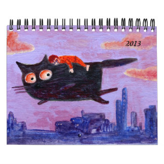 little paintings for 2013 wall calendars