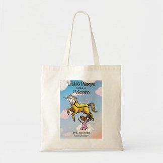 Little Pampu Unicorn Book Cover Small Tote