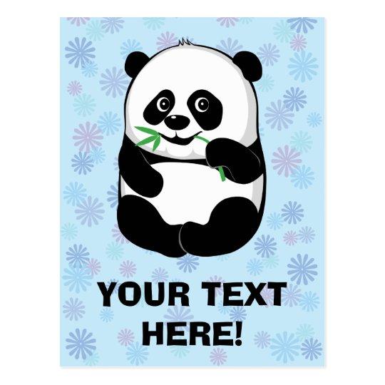 Little Panda Boy [personalize] Postcard