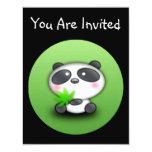 "Little Panda Cub 4.25"" X 5.5"" Invitation Card"