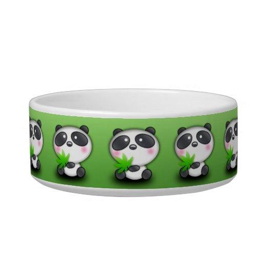 Little Panda Cub Cat Water Bowl