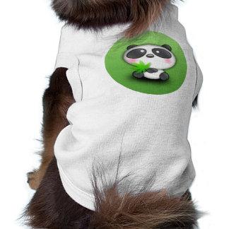 Little Panda Cub Doggie Shirt