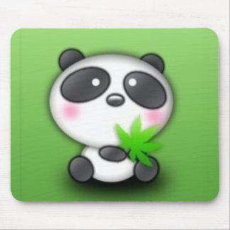Little Panda Cub Mouse Pad