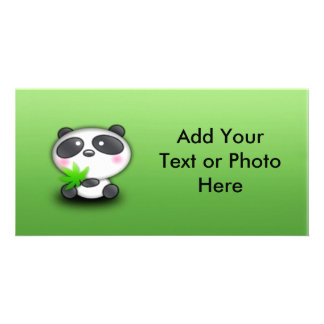 Little Panda Cub Photo Cards