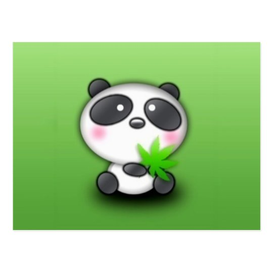 Little Panda Cub Postcard