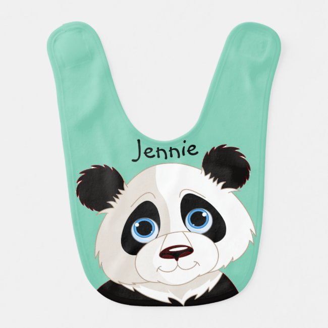 Little Panda Design Baby Bib