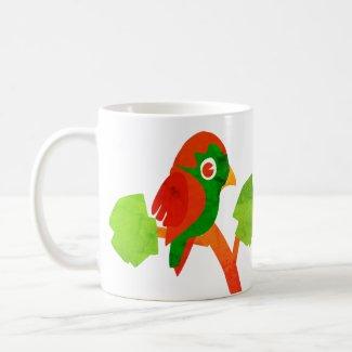 Little Parrot Coffee Mug
