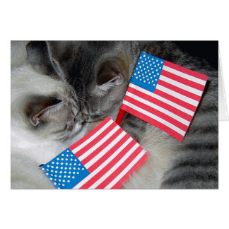 """Little Patriots"" Greeting Card"
