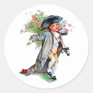 Little Paul Revere Classic Round Sticker