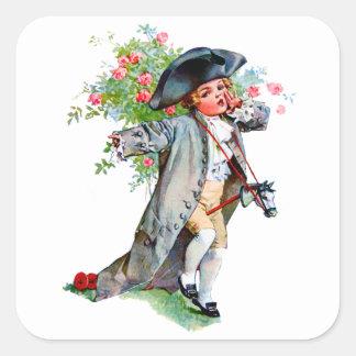 Little Paul Revere Square Sticker