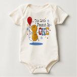 Little Peanut 1st Birthday Baby Bodysuits
