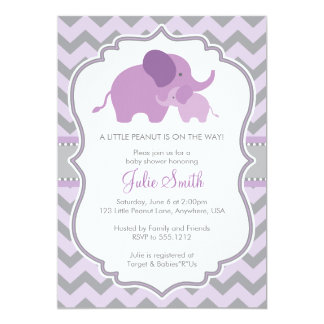 Little Peanut Baby Shower Invitation