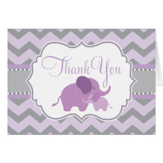 Little Peanut Baby Shower Thank You Card