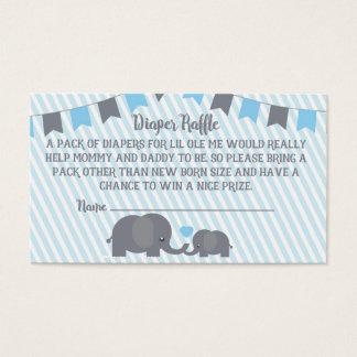 Little Peanut Diaper Raffle Card