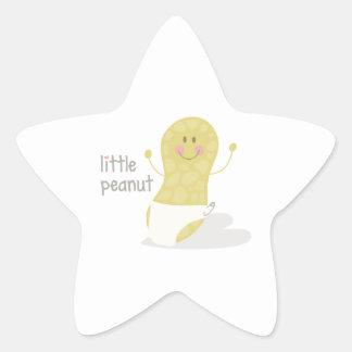 Little Peanut Star Sticker