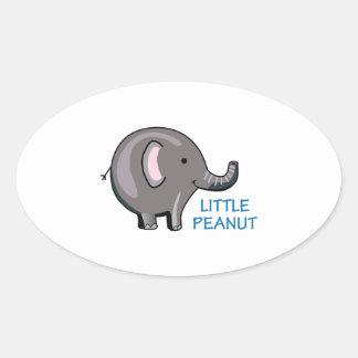 Little Peanut Oval Sticker