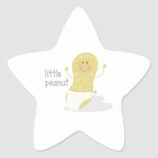 Little Peanut Star Stickers