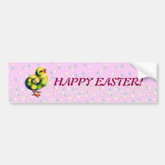 Little Peep's Easter Car Bumper Sticker