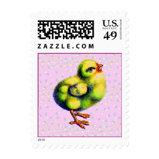 Little Peep's Easter Postage Stamp