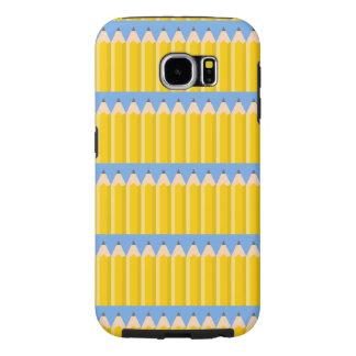 Little Pencils Pattern Art (Exclusive) Samsung Galaxy S6 Case