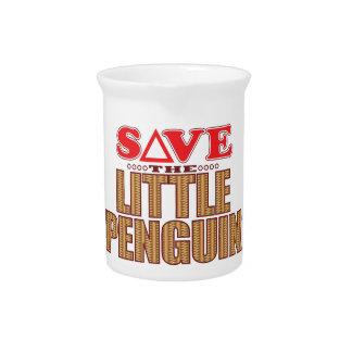 Little Penguin Save Beverage Pitcher