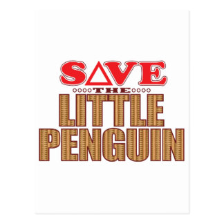 Little Penguin Save Postcard