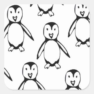 Little Penguin Square Sticker