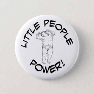 Little People Power Pinback Button