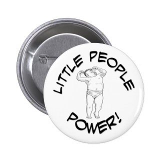 Little People Power Pinback Button