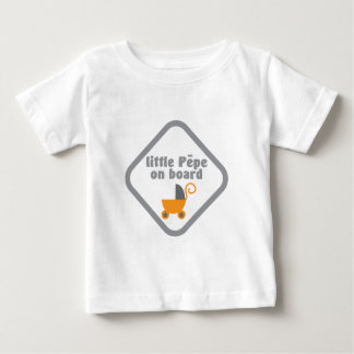 Little Pepe (Maori baby) on board Baby T-Shirt